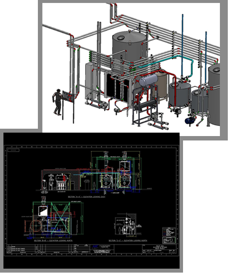 Engineering design accurate industrial construction for Industrial design services inc